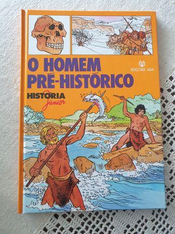 """Livro """"o homem pré histórico"""""""