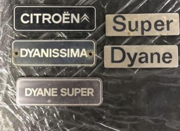 Emblemas Citröen 2CV/Dyane