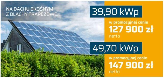 Oferta na duże systemy fotowoltaiczne 40 i 50 kWp