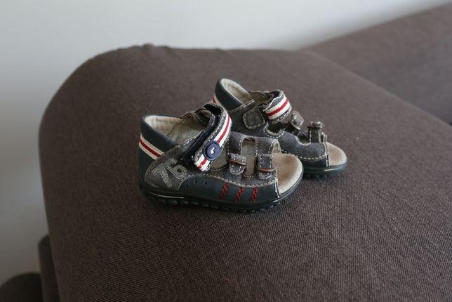 lasocki kids sandałki r 21 buciki sandały skórzane 13 cm
