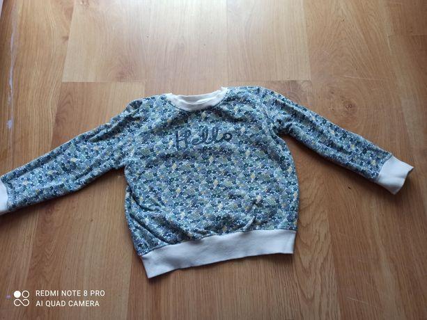 Bluza w kwiatki 122