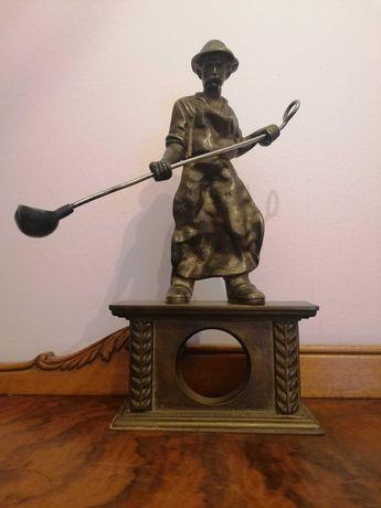 Duża  Stara Figura Hutnika ,Huta, Mosiężna
