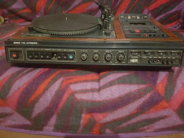 Электрофон, Музыкальный центр Вега-115 стерео