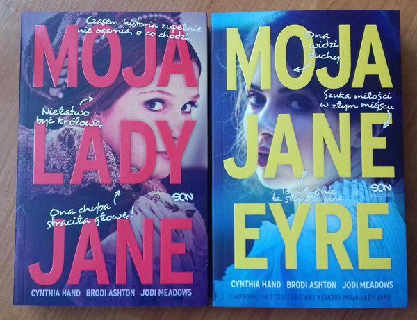 Książka Moja Lady Jane NOWA Książka Moja Jane Eyre NOWA