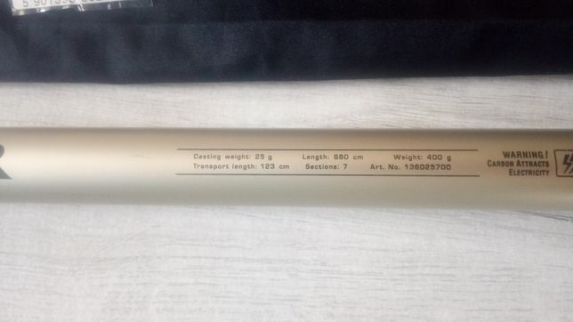 Konger  bat wędka Medalist GTX Pole 700 do 25g