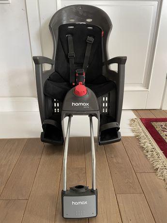 Okazja Fotelik rowerowy tylny Hamax Siesta szary