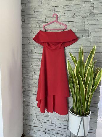 Sukienka wesele studiówka hiszpanka czerwona