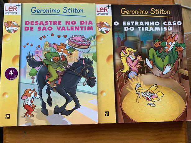 Livros Gerónimo Stilton