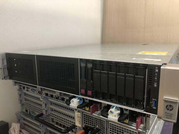 Сервер HP DL380 G9 SFF 2x xeon E5 2658 V3