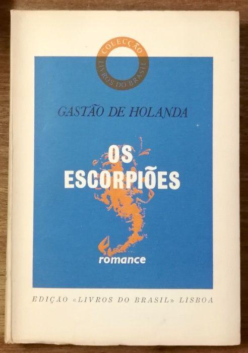 os escorpiões, gastão de holanda, livros do brasil Estrela - imagem 1
