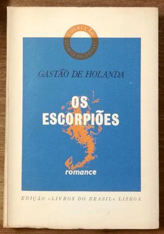 os escorpiões, gastão de holanda, livros do brasil