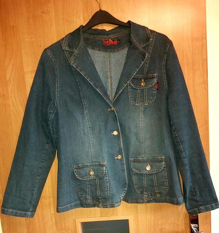 Kurtka jeans XXL
