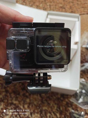 Камера vikture 4k wi-fi ultra HD