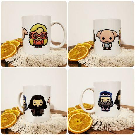 Kubek harry potter 4w1 Zgredek, Hagrid, Dumbeldore, Luna