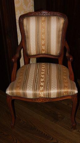Krzesło, fotel w stylu francuskim