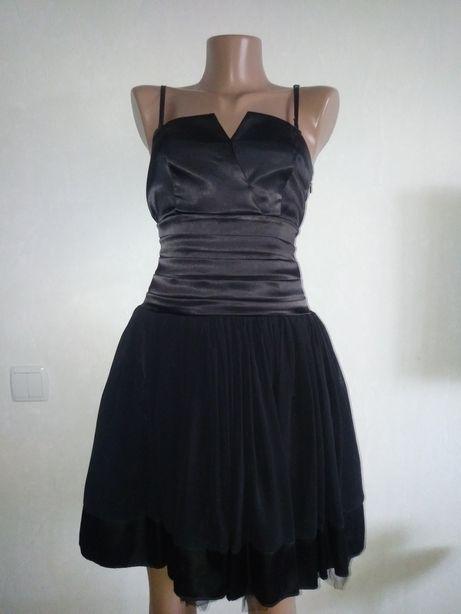 Красивейшее коктейльное платье с пышной юбкой Oben Турция