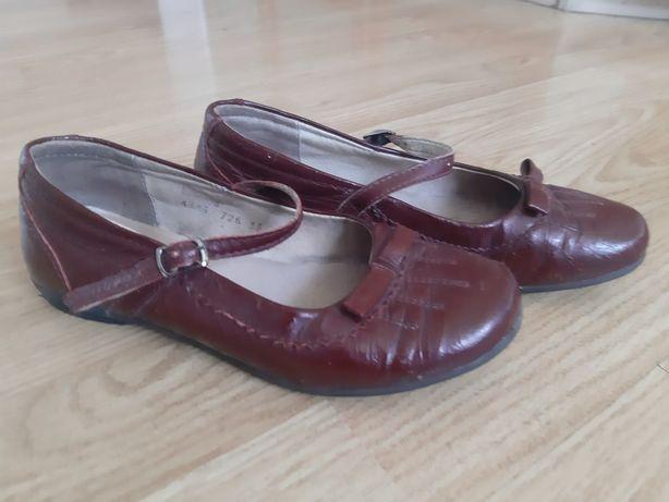 Бордовые туфли Braska 33 размер
