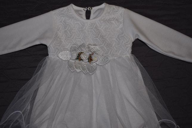 Платье новогоднее нарядное праздничное на фотосессию праздник крестины