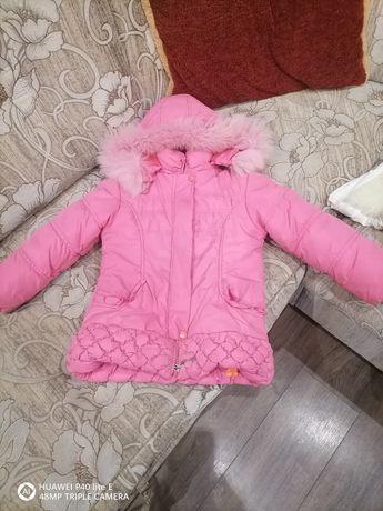 Курточка зимня дуже тепла