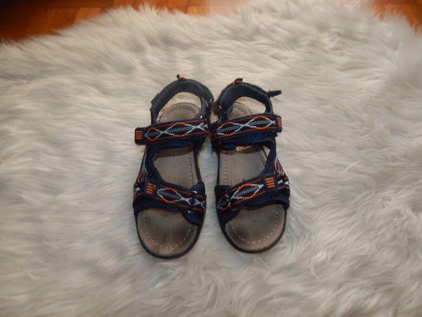 Suepr sandałki dla chłopca 32