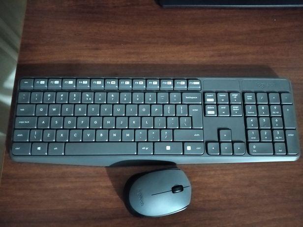 Klawiatura i mysz bezprzewodowa Logitech MK235X