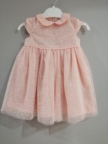 Sukienka pepco, różowa roz. 68 nowa