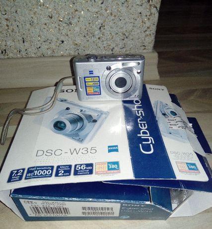 aparat cyfrowy Sony dsc-w35