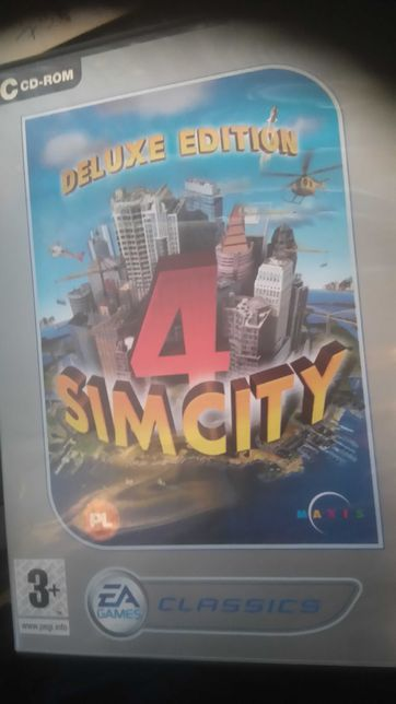 Sim City4-Deluxe edition,pc,pl classic