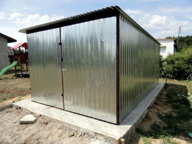 Garaż blaszany na budowę Blaszak 3x5 montaż i dostawa w całej Polsce !