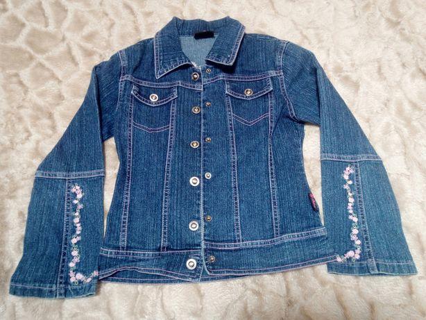 Куртка джинс на девочку