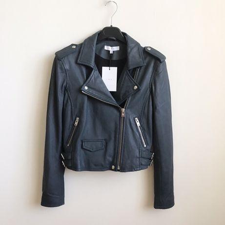 $1075 IRO байкерская кожаная куртка косуха размер 38 (Sandro, Maje)