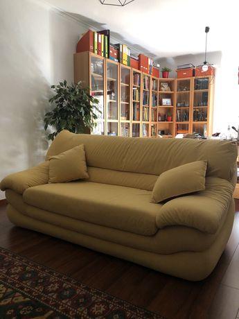 Sofa de nobu amarelo