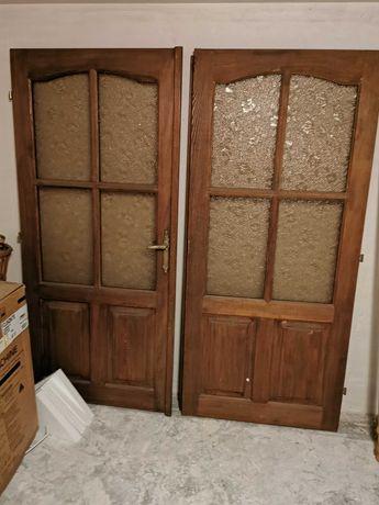 Drzwi z drewna litego