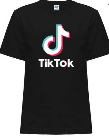 Koszulka t-shirt TIK TOK świetna jakość