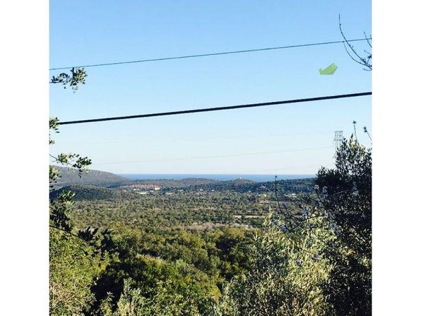 Ruína com 171m2, vista serra e mar,terreno 3,500m2, em S.Brás Alportel