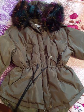 Парка_куртка,куртка с натуральным мехом