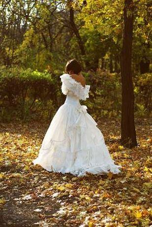 Свадебное винтажное платье Ronald Joyce (Англия)