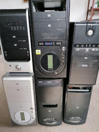 Zestaw 6 komputerów stacjonarnych