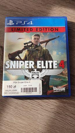 Sniper Elite 4 PS4 lub zamiana