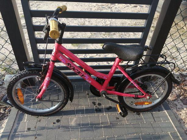 Rower 16 cali czerwony