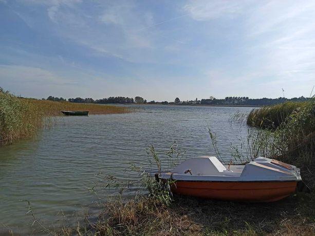 Działka rekreacyjna nad jeziorem. Kaliszany/Kamienica- Wioska Surfera