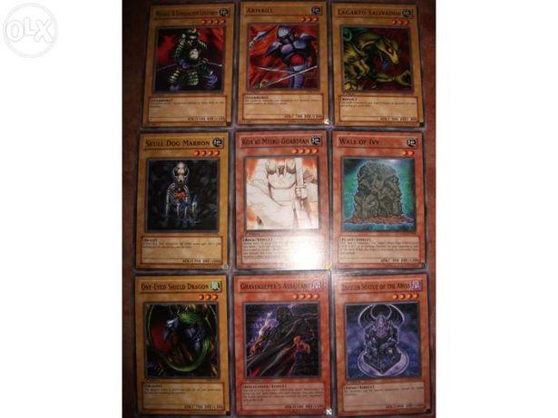 43 Cartas Yu-Gi-Oh! (Comuns)