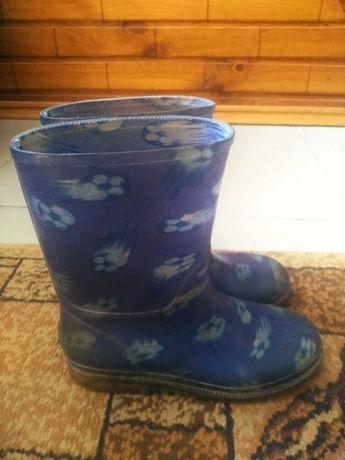 Сапоги резиновые (чоботи резинові хлопчику)