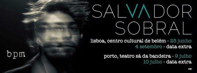 2 bilhetes - Salvador Sobral - bpm - 25 de Junho
