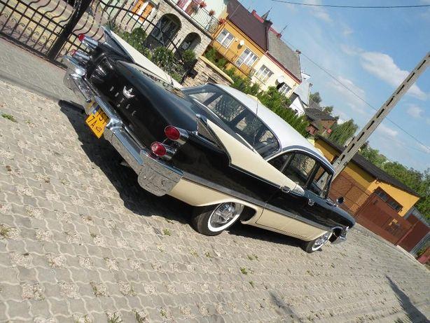 Zabytkowy Dodge'59 auto do ślubu samochód na wesele