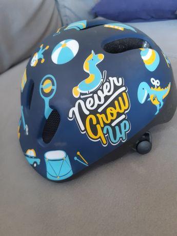 Kask dziecięcy Polisport xxs Toys niebieski rowerowy