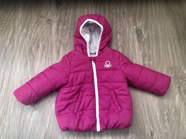 Куртка на девочку Benetton, куртка на дівчинку