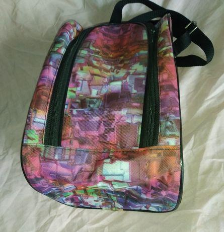 Спортивная сумка для обуви на плечо, для сменки, мини сумка спорт new