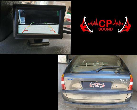 Montagem e venda de Camera e Sensores de estacionamento em carro jipe