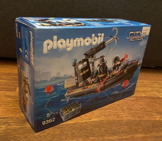 Конструктор Playmobil SWAT Boat (9362)
